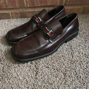 Gucci Men's Brown Dress Shoes